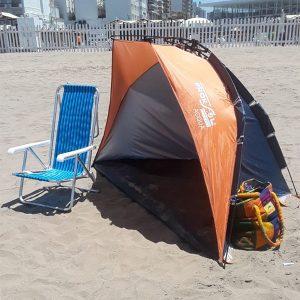 carpa linea praia naranja