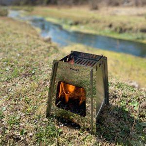 Calentador biomasa